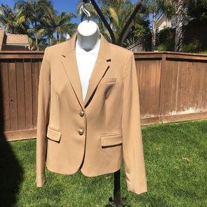 Gorgeous NWT J. Crew beige blazer with lining